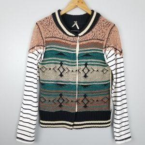 Bke   Crochet Jacket Cardigan Press Buttons